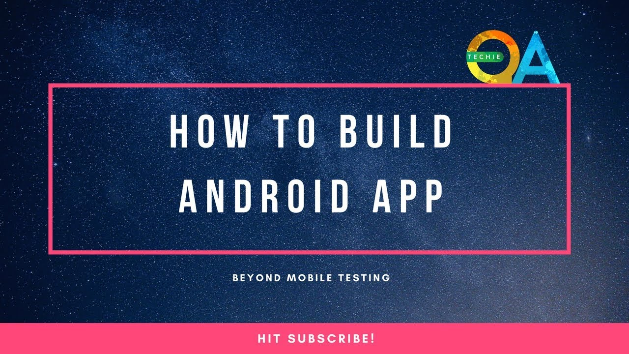 How to build an android application from the source code?