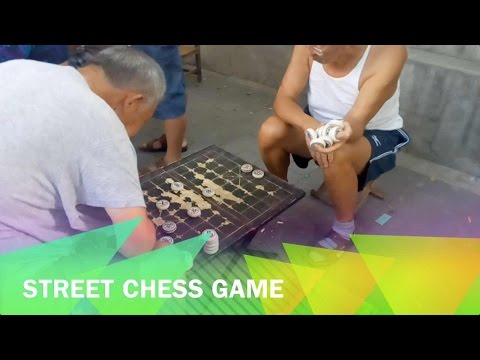 The Real China: Street Chess Game
