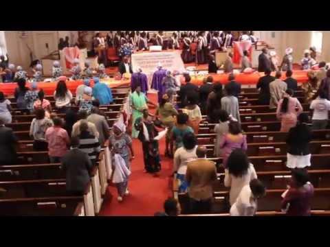 Ghana Wesley United Methodist Church Annual Harvest 2015