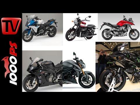 Motorrad Neuheiten 2015 Teaser | 1000PS Wochenshow EICMA 2014 Special