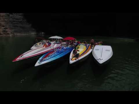 Lake Cumberland Vacation 2016 - State Dock House Boats - DRONE - DJI Phantom 4