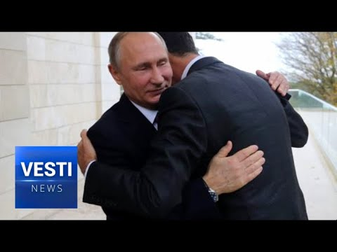 Syrian President Assad Personally Thanks Putin and Russian Generals For Saving His Country