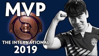 MVP of The International 2019 — OG.Ana