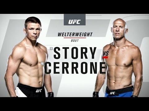 UFC 202 Donald Cerrone vs Rick Story Full Fight 2016 Video