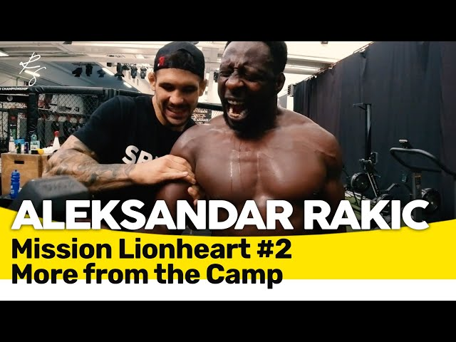 Aleksandar Rakic - Mission Lionheart Part 2 - Finish the Camp at ATT Zagreb 🇬🇧🇲🇪🇧🇦🇷🇸🇭🇷 Subtitles!!!