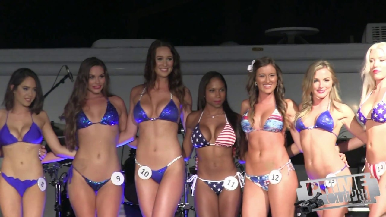 Beach club bikini competition siest key fl