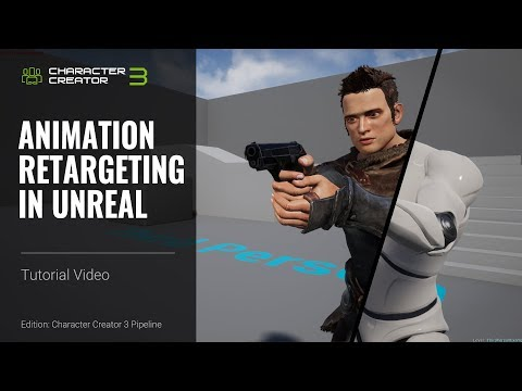 Character Creator 3 Tutorial - Animation Retargeting In Unreal With Auto-Setup Plugin