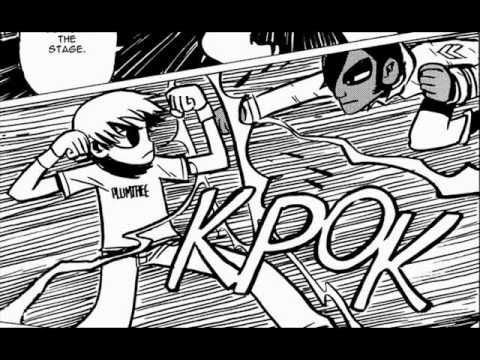 Scott Pilgrim Vs The World Trailer Graphic Novel Recreation Youtube