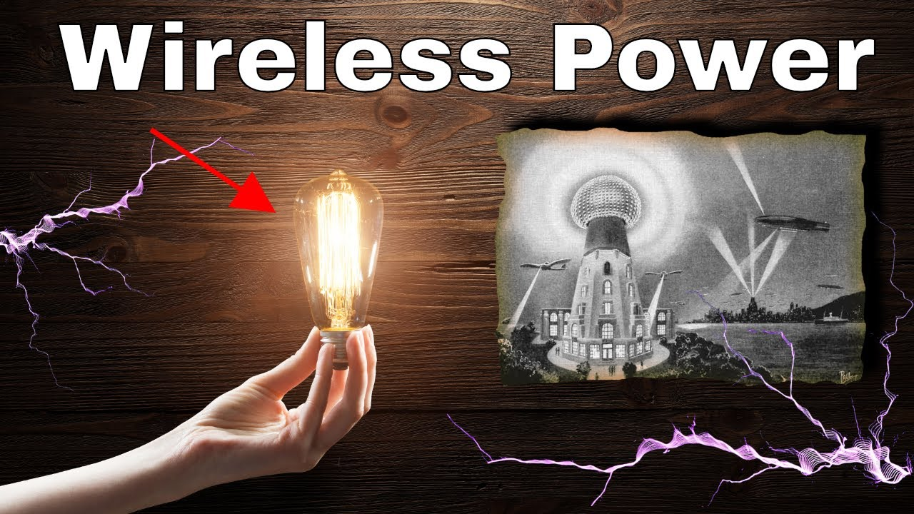 Making Wireless Energy For The Entire Planet—Nikola Tesla's Wardenclyffe Tower