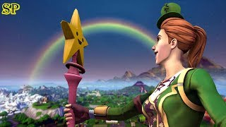 TRÉSOR SECRET «TROUVÉ» à LA FIN DE L'ARC-EN-CIEL - Fortnite Battle Royale