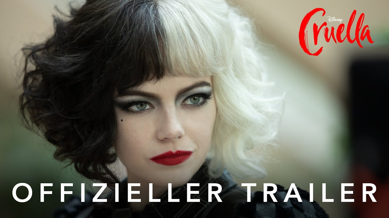 CRUELLA - 1. Offizieller Trailer (deutsch/german) | Disney HD