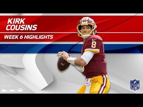 Kirk Cousins' Huge Day w/ 330 Yards & 2 TDs!   49ers vs. Redskins   Wk 6 Player Highlights