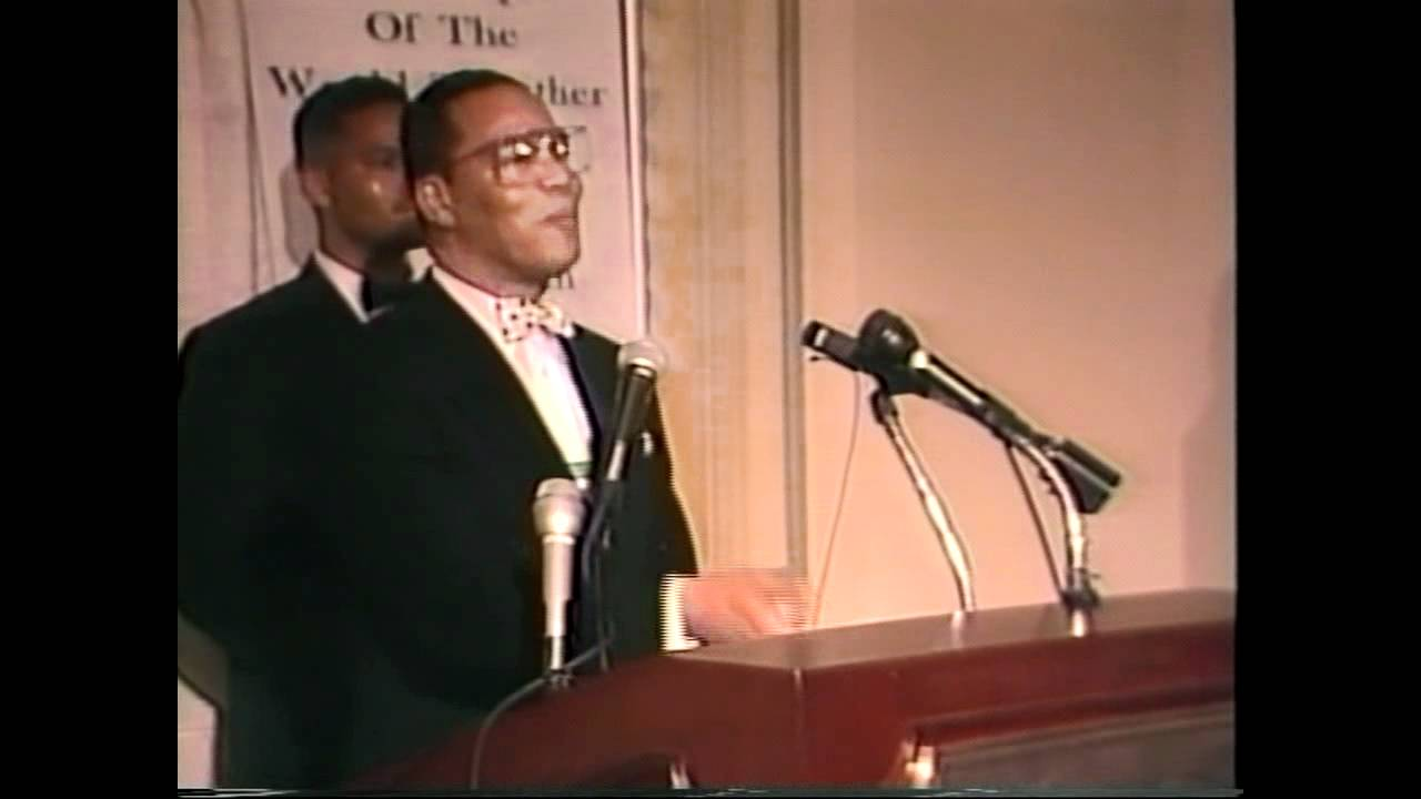 Minister Farrakhan Q&A with the media
