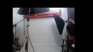 Project FABE photoshoot behind the scenes