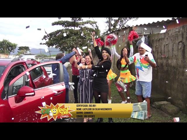 Lucyleide Nascimento, de São Vicente, ganhou 1 TRACKER 0KM