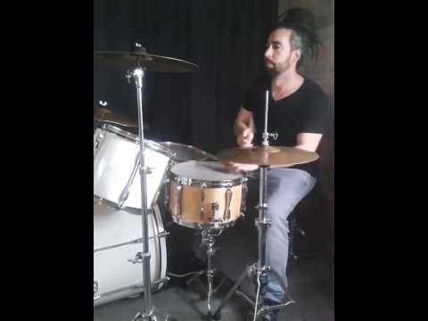 """Download Reggae Drums playing freestyle stepper beat over """"Arm Your Soul"""" (Julian Marley)"""