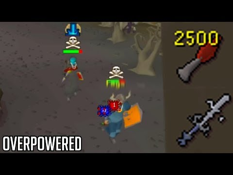 DRAGON KNIFES AGS FULL STACK SLAPS (OSRS Pking)