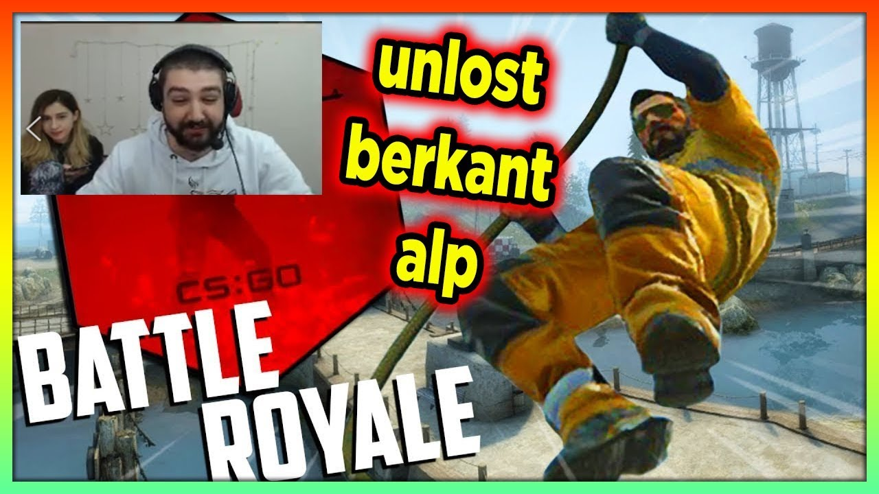 THETABETA UNLOST EKİPLE CSGO BATTLE ROYALE MODUNU OYNUYOR!