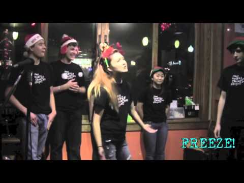 FULL IMPROV SHOW! The Unruly Theatre Project at Caffe Amouri Dec. 6 PART 1