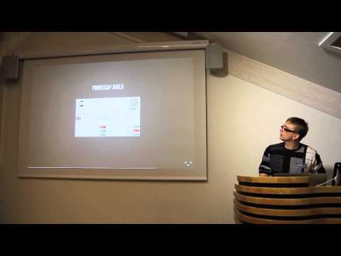 Pavel Kurnosov: Building mobile application using Sencha Touch and Phonegap