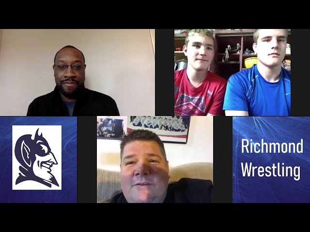 Looking back on another wild ride: Richmond wrestling reflects on its season