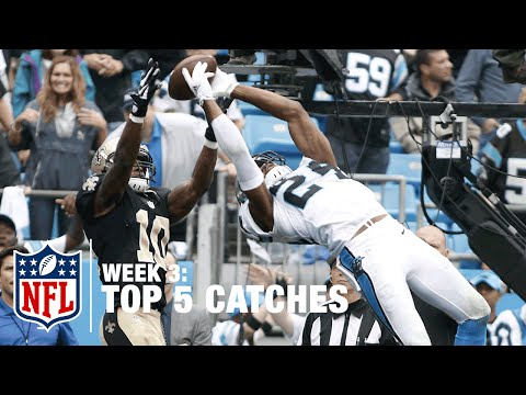 Top 5 Catches (Week 3)   T.Y. Hilton, Josh Norman, and MORE!   NFL