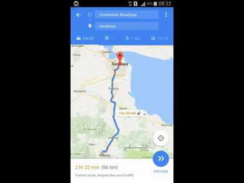 How To Save Offline Route In Google Maps