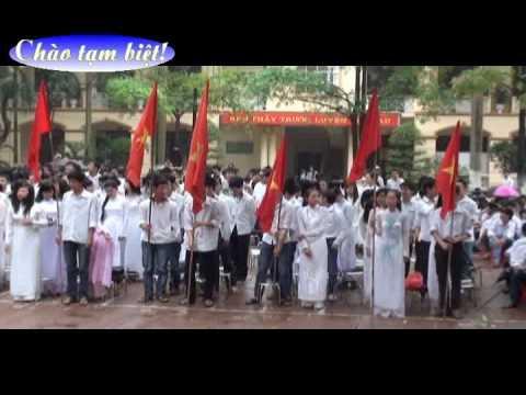Lễ ra trường khối 12 năm học 2009 - 2010 Trường THPT Trần Phú