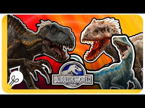 INDORAPTOR VS INDOMINUS REX Dan BLUE