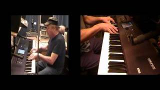Harmony - Amazing Original Piano Composition for 2 pianos - Korg Kronos - Multitrack & MultiCamera