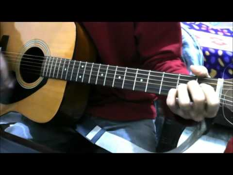 Tose Naina - 2 chords + 1 more song - Arijit Singh - Guitar cover lesson chords bollywood