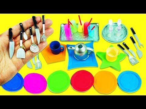 10 Miniaturas de Cocina / para Cocinar en Miniatura #2  -  Manualidades Para Muñecas