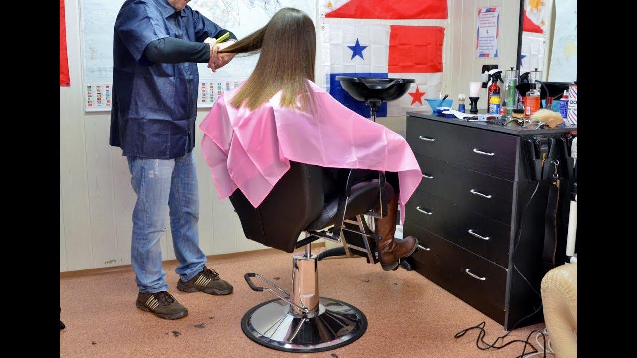 iBarbershopi igirli haircut YouTube