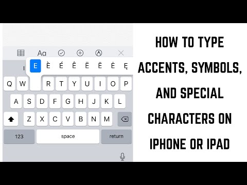How To Type Accents, Symbols, And Special Character Letters On IPhone Or IPad