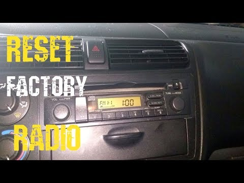 How To Get Radio Code Honda Civic 2001+ Unlock, Serial Number, Reset Factory and How To Enter It
