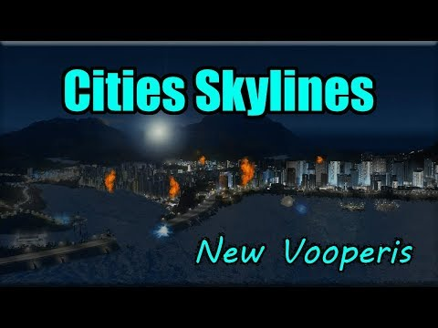 DAM DISTRICT SPLIT IN HALF BY EARTHQUAKE! - Cities Skylines [New Vooperis] #20