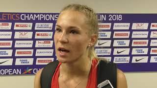 Amálie Švábíková po finále tyčky na ME 2018