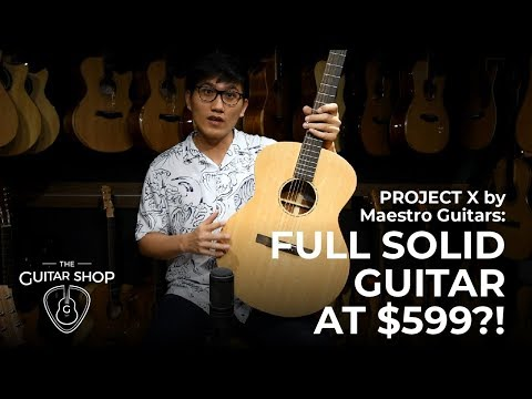 The Guitar Shop | Project X (Full Review)