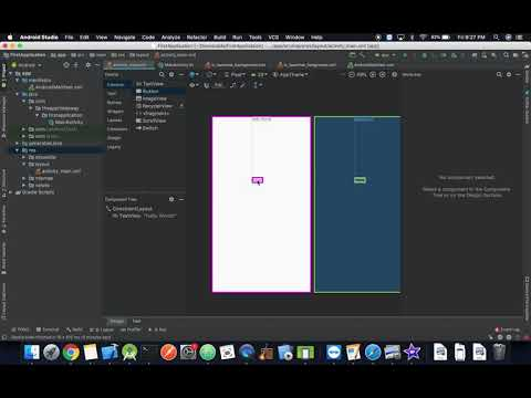 Android Development Tutorial: Adding UI Elements thumbnail