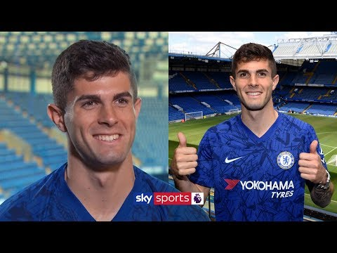 Christian Pulisic's first interview at Chelsea