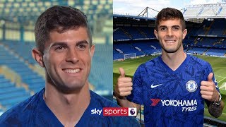 EXCLUSIVE: Christian Pulisic's first interview since arriving at Chelsea Video