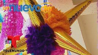 Los artesanos mexicanos y las famosas piñatas navideñas | Un Nuevo Día | Telemundo