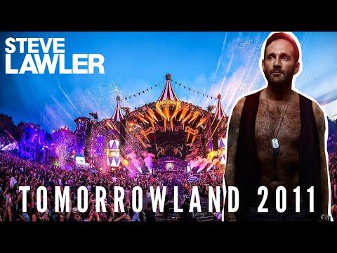 Steve LAWLER Interview /// Tomorrowland Festival, Belgium /// 22 July 2011