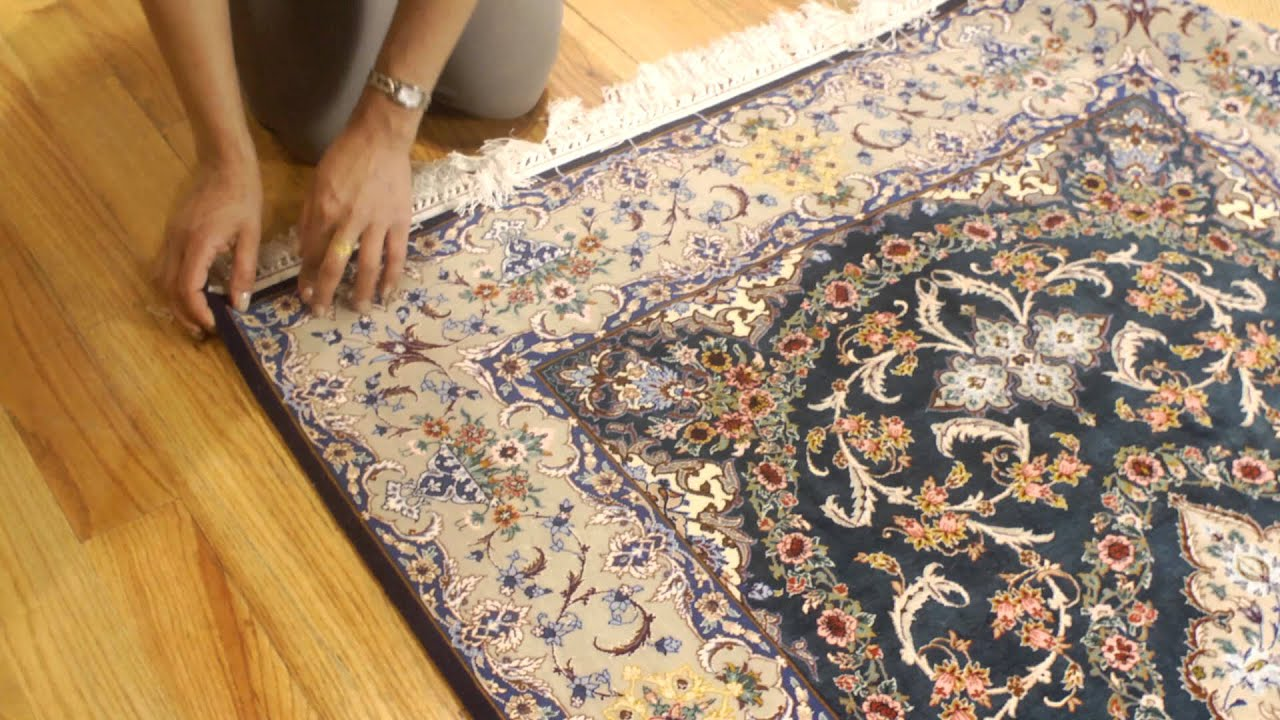 How to Install Rugs & Padding : Rug
