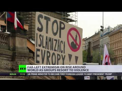 'Regime of tolerance': Radical left on the rise around world