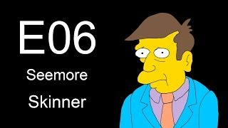 Simpsons - 6th drawing FACE [Seemore Skinner]