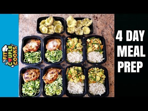 Meal Prep With Us Live - Ep. 2 - 4 FULL DAYS OF MEAL PREP ($3/Meal)