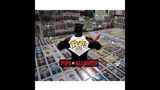 Damaged Funko Pop Mystery Box Unboxing ( UNDER £6 A POP ) --- UK