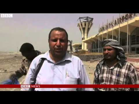 News - Yemen crisis: Aden airport 'recaptured from Houthi rebels'  - BBC News