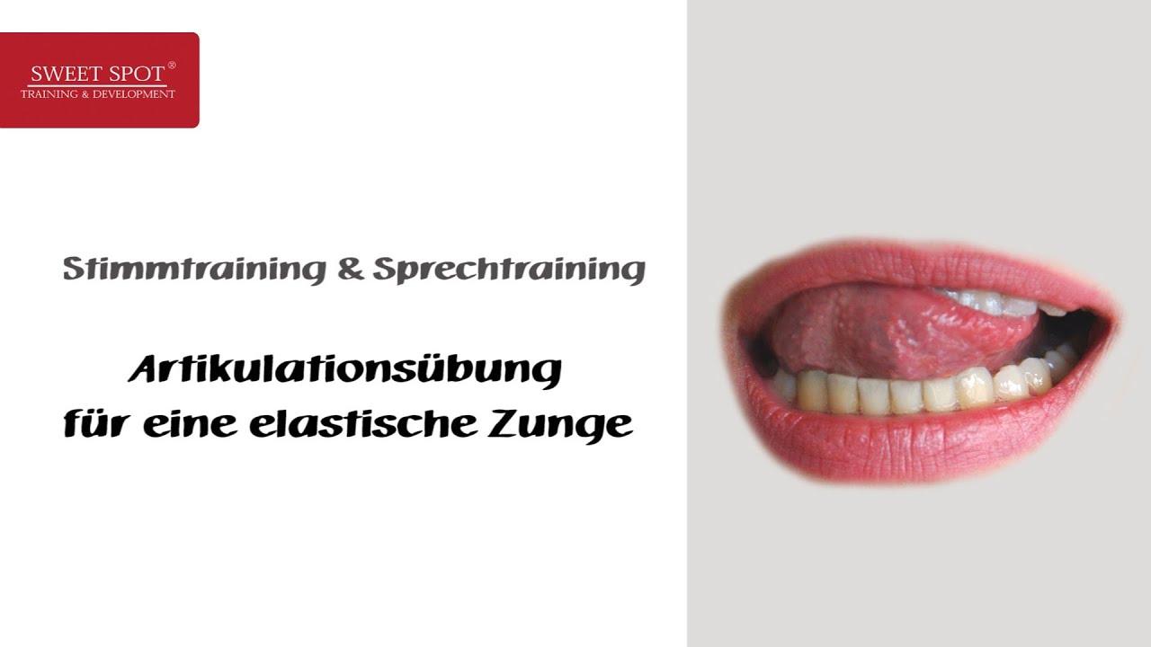 Stimmtraining & Sprechtraining - Beispiel - Artikulationsübung ...